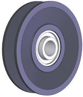Ball Bearing Cast Iron V Belt Idler Pulleys | Brewer Machine
